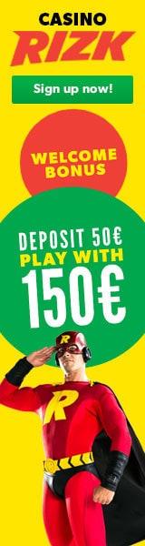 rizk casino bonus banner