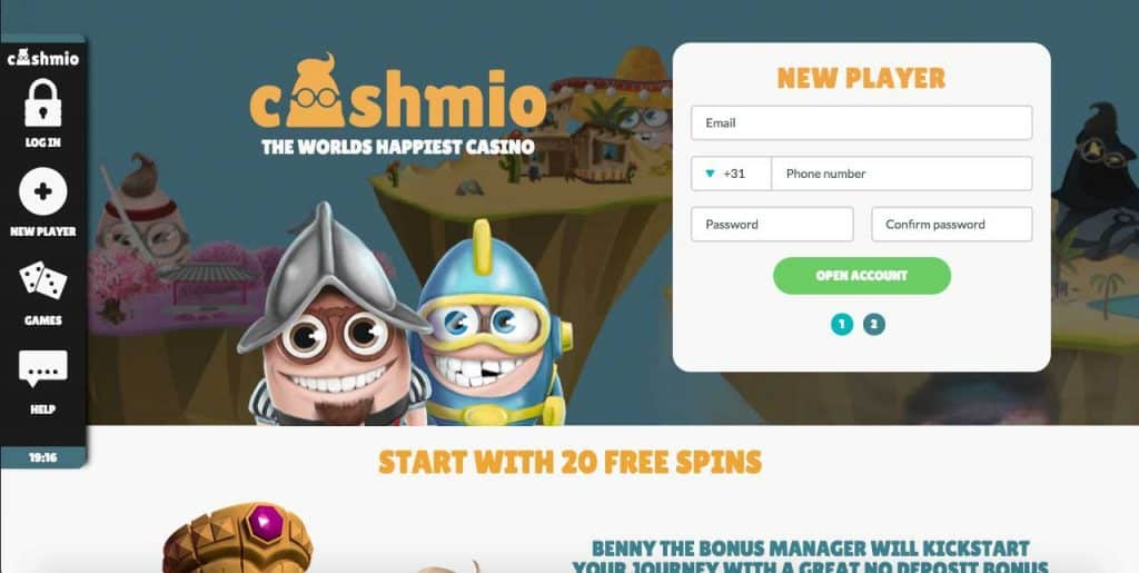 cashmio casino screenshot