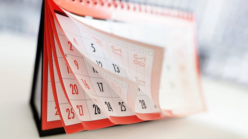 Spinson Calendar