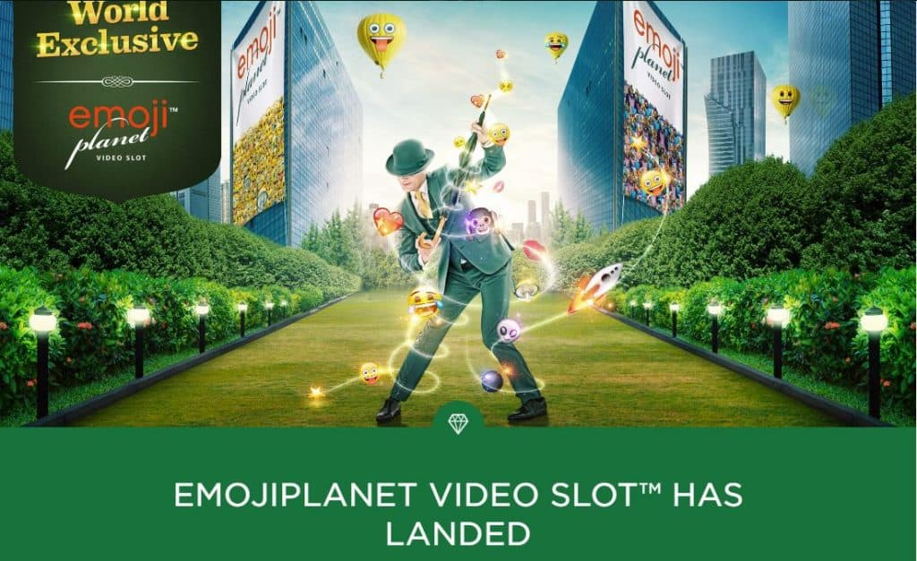 Mr. Green Emojiplanet