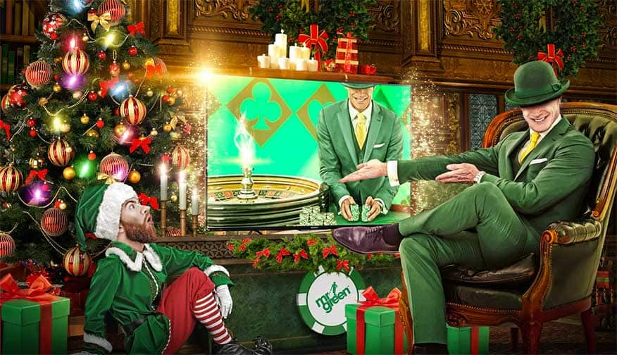 Mr Green Kerst