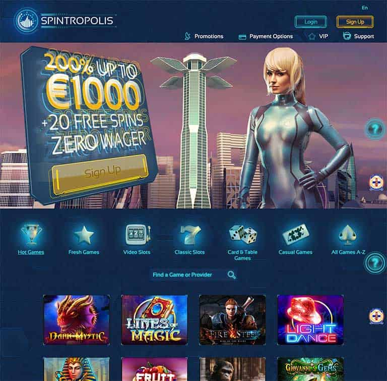 Spintropolis Casino