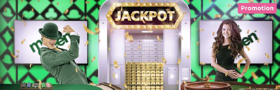 mr green live casino jackpot