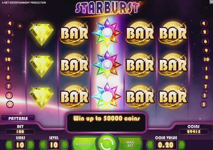 starburst big win karamba