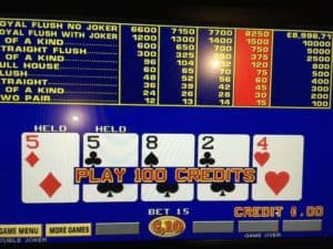royal flush jackpot poker