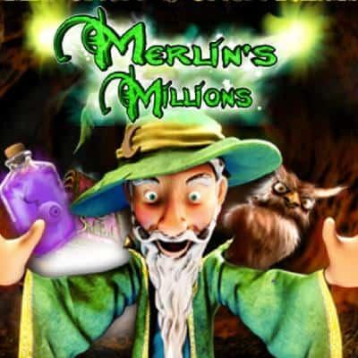 merlins millions logo