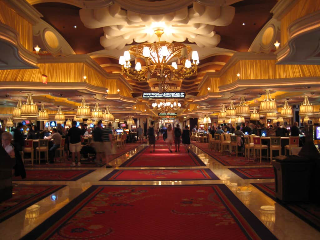casino lobby wynn